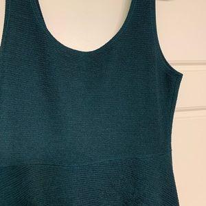 Dresses - Skater style dress. Deep Green. Large